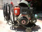 Portable home made welder alternator